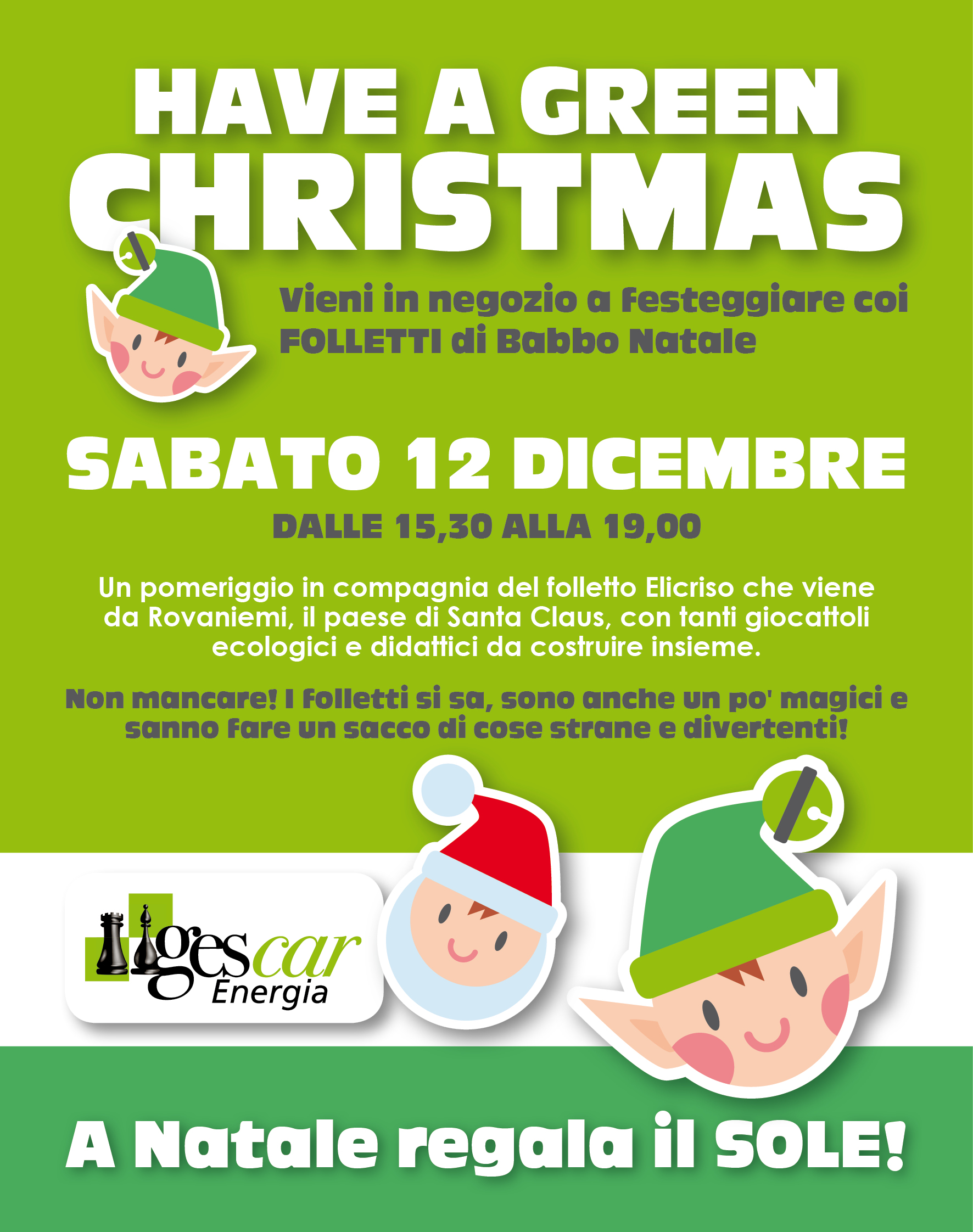 post web natale gescar
